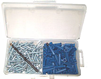Plastic Anchor Kit - Conical