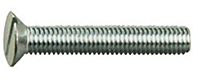 Slot Flat Mach Screws
